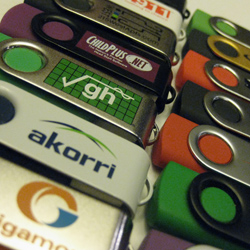 personalized flash drives for companies